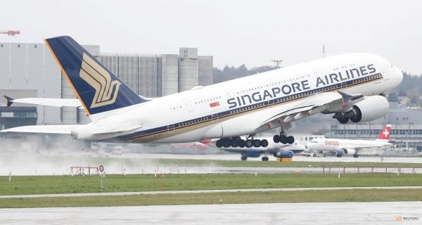 Singapore Airlines: Περικοπή του πτητικού της έργου κατά 96%