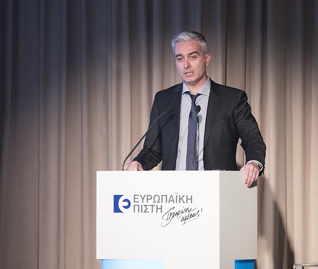Ευρ. Πιστη Γκοτζαγεώργης Διευθυντής Marketing Υποστήριξης Δικτύου Πωλήσεων