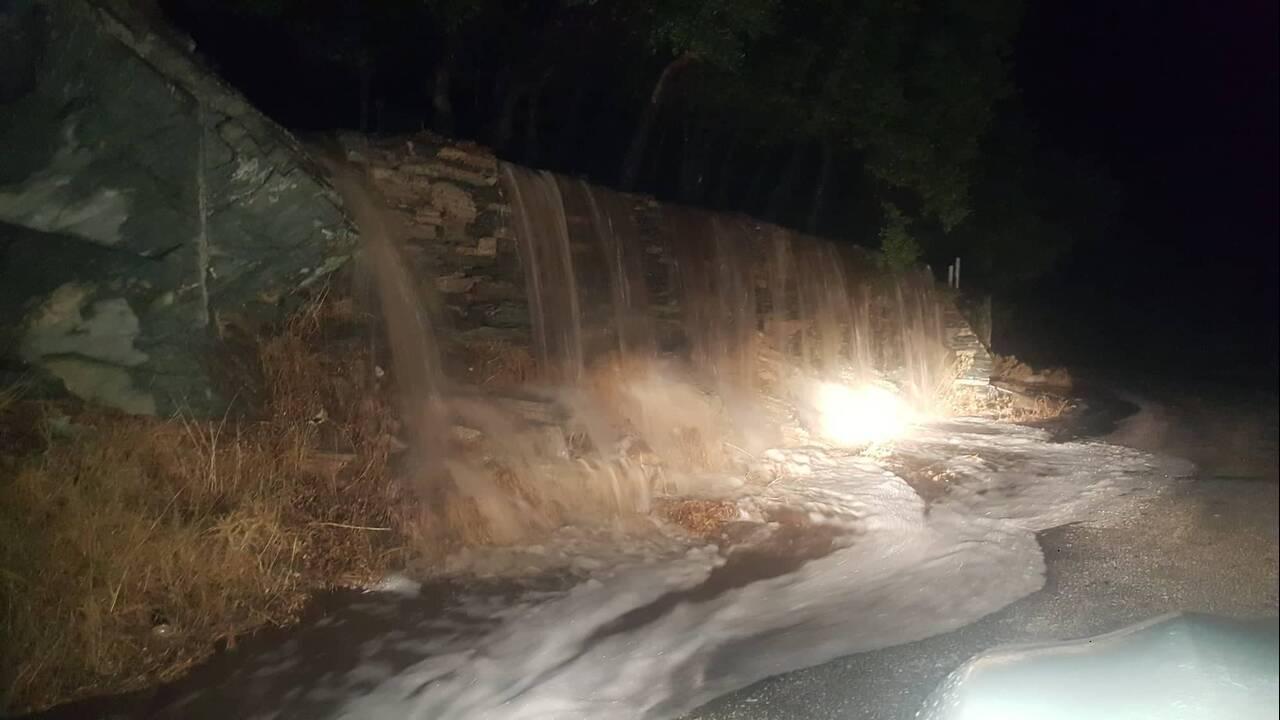 ανδρος πλημμυρα