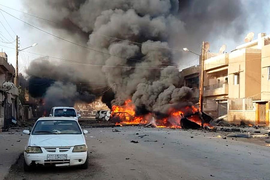 εκρηξη συρια